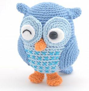Hiboux bleu Jip