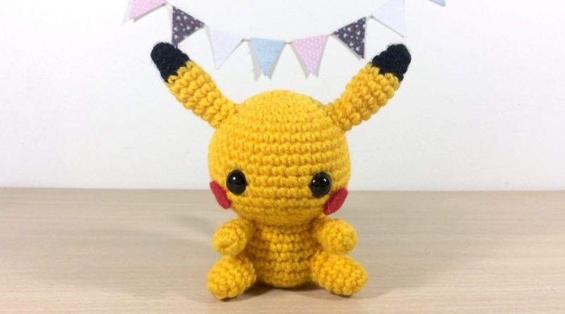 Amigurumi Sad Pokemon : Patron Amigurumi Crochet : Bebe Pikachu Made by Amy