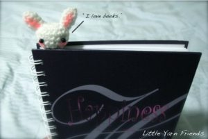 lapin marque page