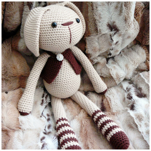 Tutoriel au crochet modèle amigurumi : Barnabé le lapin | Etsy | 500x500