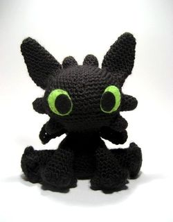 Vincent the Dragon | Free Crochet Pattern Amigurumi | Hooked by Kati | 320x250