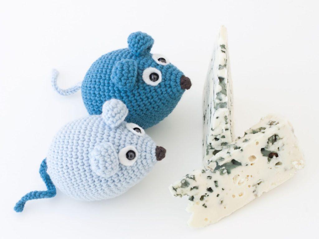 Patron Amigurumi Crochet : Souris – Made by Amy