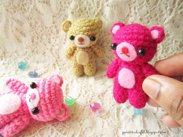 patron amigurumi crochet petits