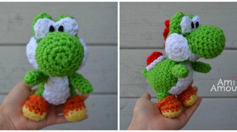 Amigurumi Mario Patron : Amigurumi Made by Amy