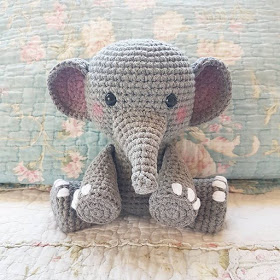 Patron Amigurumi Léléphant Au Crochet Made By Amy