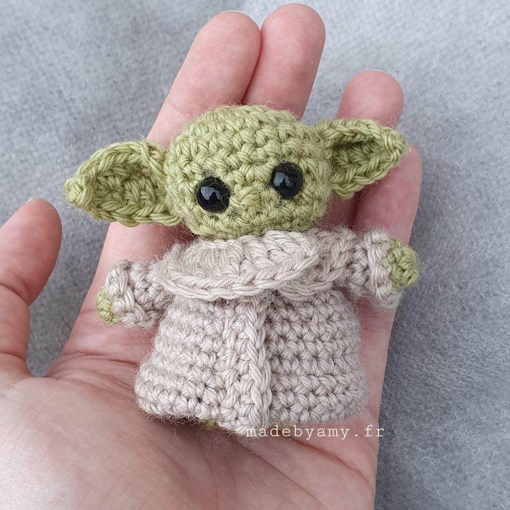 How to Crochet Baby Yoda - A Free Amigurumi Pattern | Ganchillo ... | 1024x1024